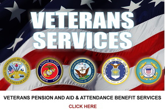 Veterans Pension, aid and attendance, veterans planning